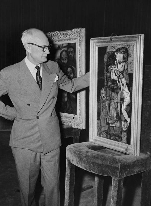 George Dondero Modern Art Shackled To Communism