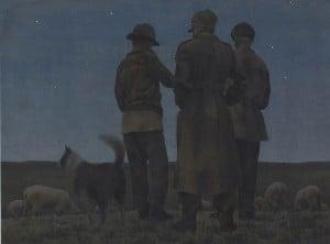 Three Shepherds - Hallmark Art Collection