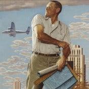 Norman Rockwell The Kansas City Spirit