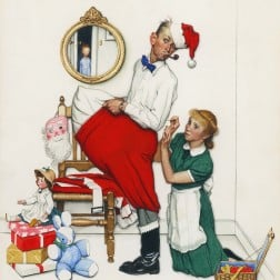 Rockwell_SantasSurprise_1955_HallmarkArtCollection_150_crop